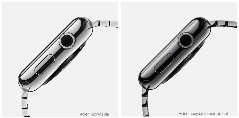 apple watch alu ou acier