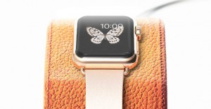 support-apple-watch en cuir