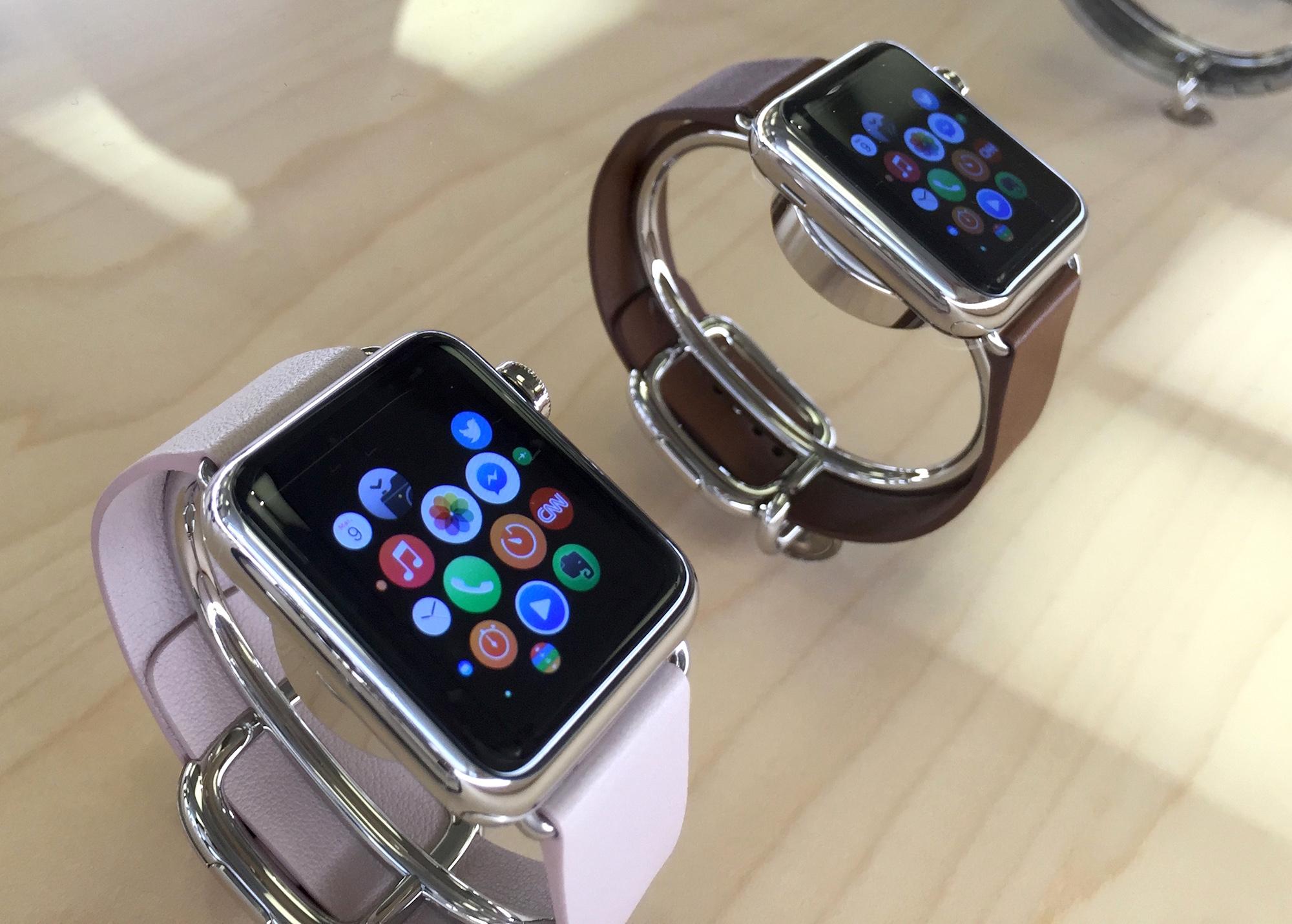 bracelet montre apple watch cuir bijoux la mode. Black Bedroom Furniture Sets. Home Design Ideas
