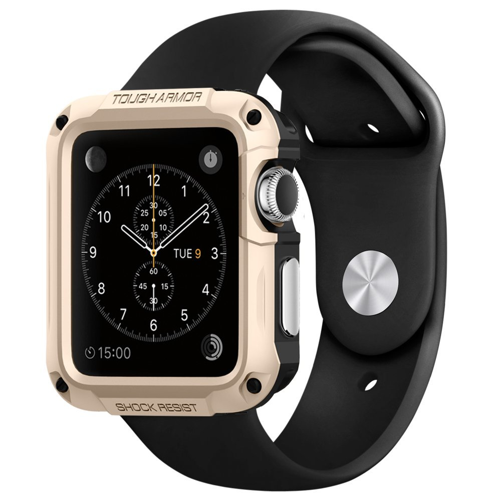 films coques et support apple watch chez spigen apple watch et montres connect es blog. Black Bedroom Furniture Sets. Home Design Ideas