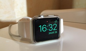 apple watch en mode reveil